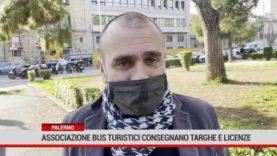 Palermo. Associazione Bus Turistici consegnano targhe e licenze
