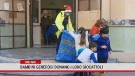 Palermo. Bambini generosi donano i loro giocattoli