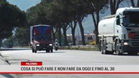 Palermo. Cosa si può fare e non fare da oggi e fino al 30
