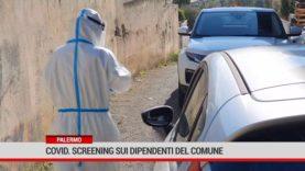 Palermo. Covid. Screening sui dipendenti del Comune