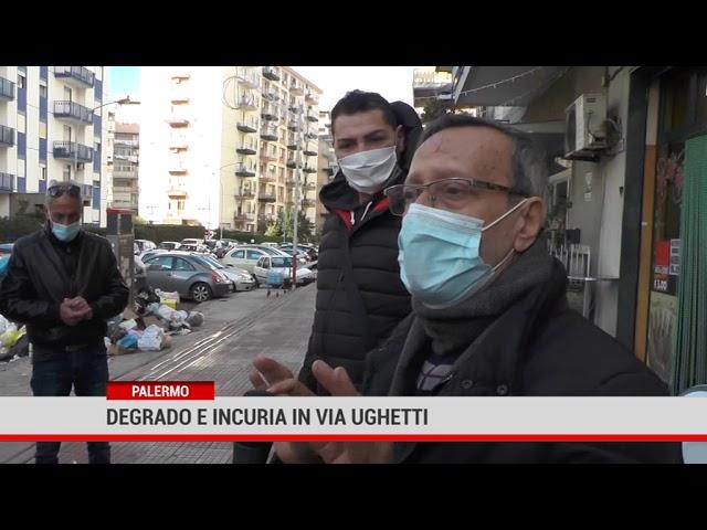 Palermo. Degrado e incuria in via Ughetti