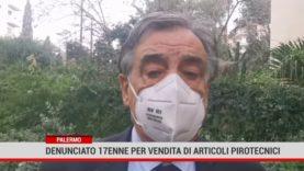 Palermo. Denunciato 17enne per vendita di articoli pirotecnici