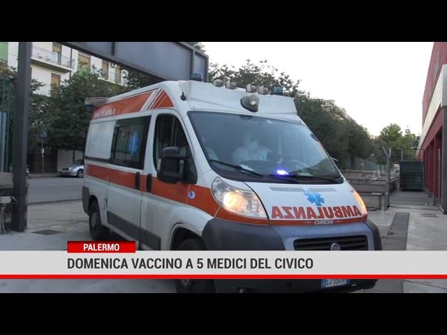 Palermo. Domenica vaccino a 5 medici del Civico