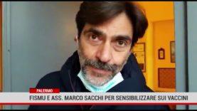 Palermo.  Fismu e Ass. Marco Sacchi per sensibilizzare sui vaccini