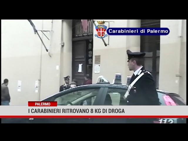 Palermo. I carabinieri ritrovano 8 kg di droga