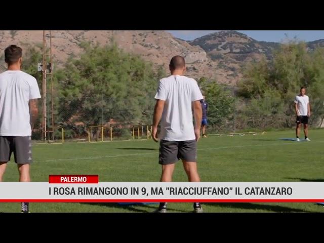 """Palermo. I rosa rimangono in 9 ma """" riacciuffano"""" il Catanzaro"""