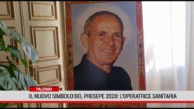 Palermo. Il nuovo simbolo del presepe 2020: l'operatrice sanitaria