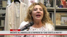 """Palermo.Iniziate all'Abatellis le riprese di """"Che cos'è la notte"""""""