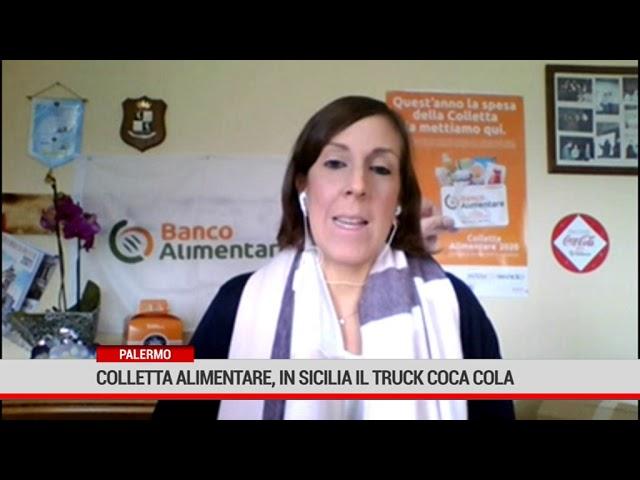 Palermo.  La campagna della colletta alimentare per aiutare le famiglie disagiate