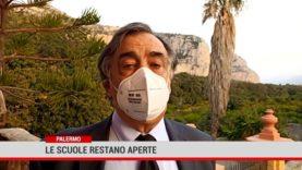 Palermo. Le scuole restano aperte
