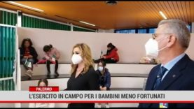 Palermo.L'esercito in campo per i bambini meno fortunati