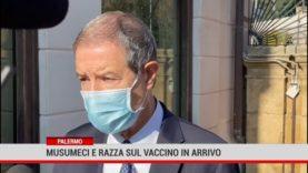 Palermo. Musumeci e Razza sul vaccino in arrivo