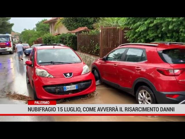 Palermo. Nubifragio 15 luglio, come avverrà il risarcimento danni