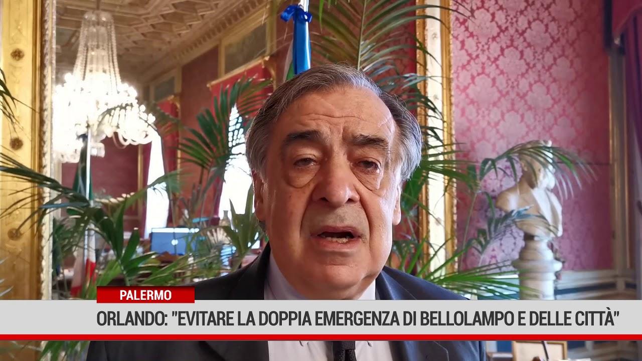 """Palermo. Orlando: """"Occorre evitare la doppia emergenza di Bellolampo e delle città"""""""