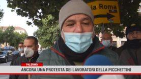 Palermo. Protesta dei Picchettini davanti la Prefettura