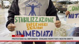 Palermo. Protestano gli infermieri: vengano rispettati i nostri diritti