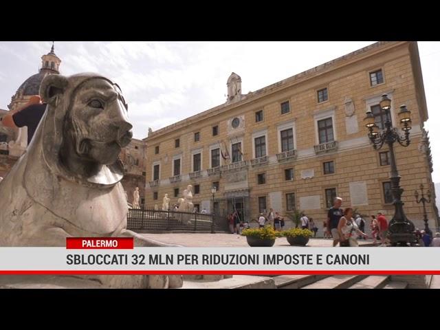 Palermo. Sbloccati 32 mln per riduzione o azzeramento imposte canoni