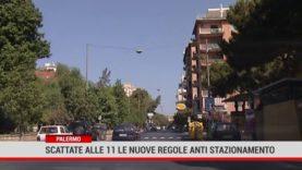 Palermo.Scattate alle 11 le nuove regole anti stazionamento