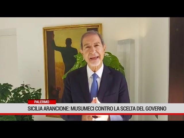 Palermo. Sicilia arancione: Musumeci contro la scelta del Governo