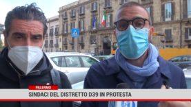 Palermo. Sindaci del distretto d39 in protesta