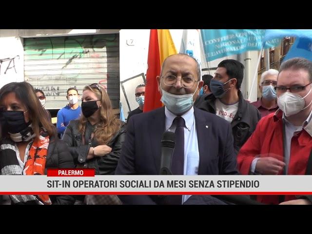 Palermo. Sit-in operatori sociali da mesi senza stipendio