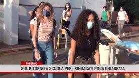 Palermo. Sul ritorno a scuola per i sindacati poca chiarezza