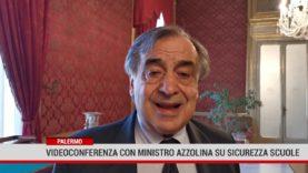 Palermo. Videoconferenza con ministro Azzolina su sicurezza scuole