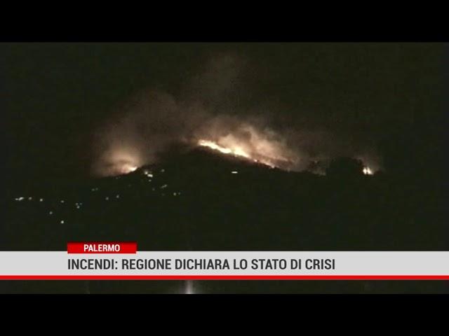 Paolo.Incendi: Regione dichiara lo stato di crisi