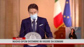 Roma. Nuovo Dpcm dicembre in vigore da domani