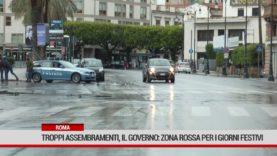 Roma. Troppi assembramenti, il Governo pensa alla zona rossa per i giorni festivi