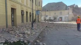 Terremoto Croazia: scossa di magnitudo 6.4 vicino a Zagabria. Edifici crollati, vittime