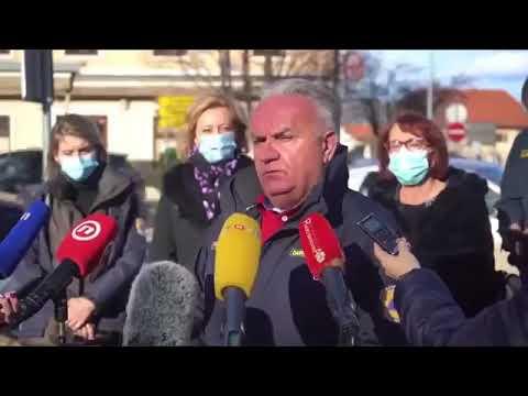 Terremoto in Croazia, il momento esatto della scossa