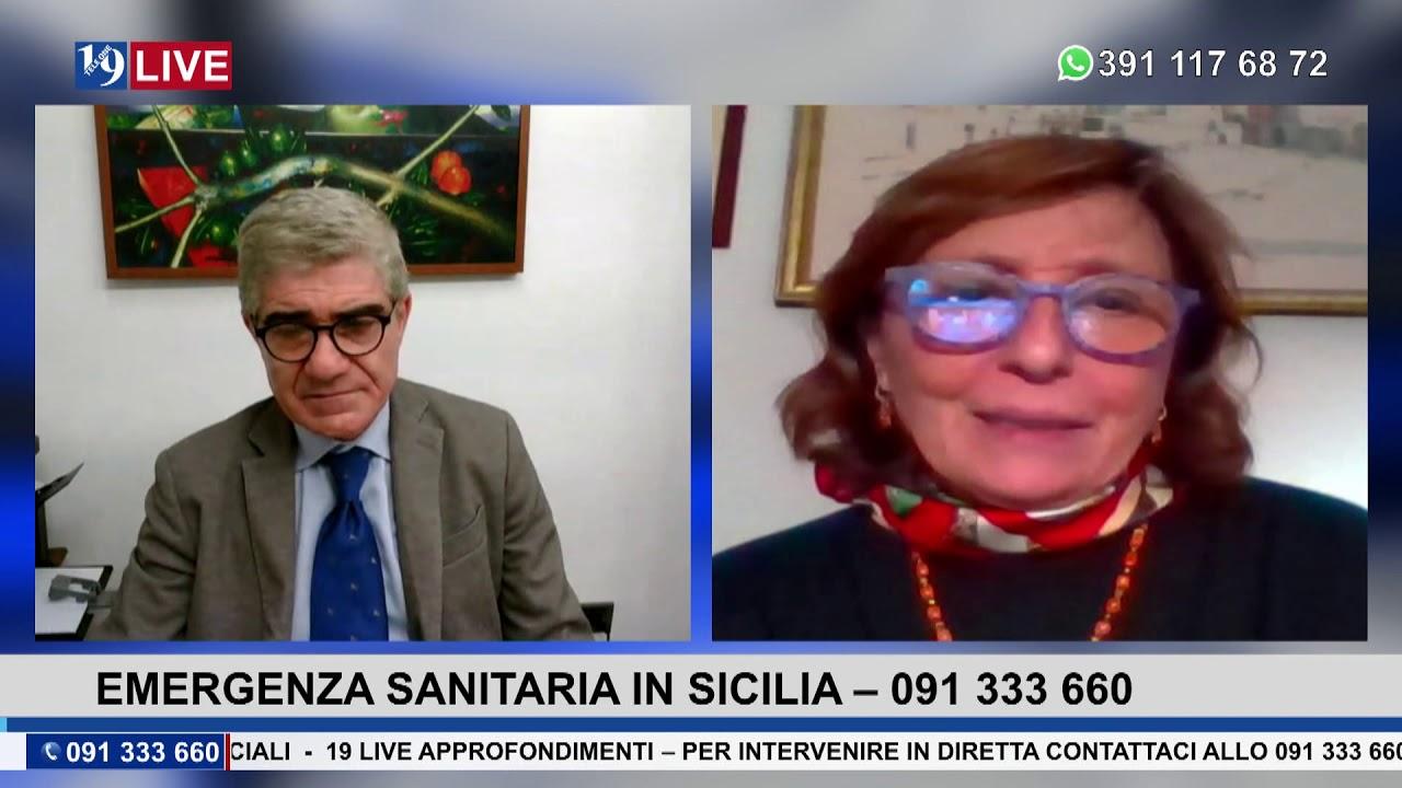 19 LIVE  EMERGENZA SANITARIA IN SICILIA