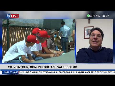 19 LIVE IN TOUR, I COMUNI SICILIANI: VALLEDOLMO con il Sindaco Angelo Conti.