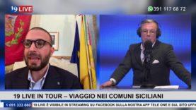 19LIVE IN TOUR    I COMUNI SICILIANI   SINDACO DI BAGHERIA FILIPPO TRIPOLI
