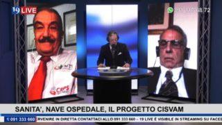 19LIVE  SANITA', NAVE OSPEDALE, IL PROGETTO CISVAM   PARTE 2