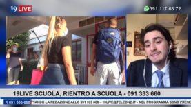19LIVE   SCUOLA, RIENTRO A SCUOLA   TONA