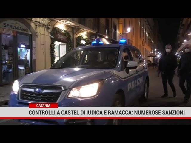 Catania. Controlli a Castel di Iudica e Ramacca: numerose sanzioni