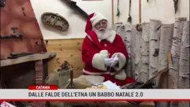 Catania. Dalle falde dell'Etna un Babbo Natale 2.0