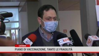 Catania. Piano di vaccinazione, tante le fragilità