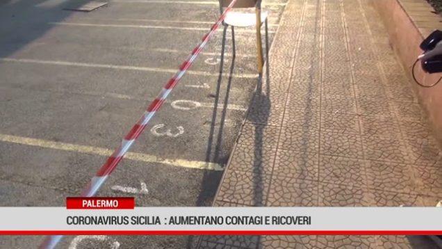 Coronavirus. Sicilia : aumentano contagi e ricoveri