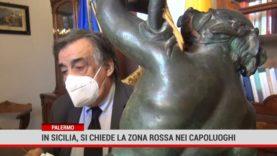 In Sicilia si chiede la zona rossa nei capoluoghi