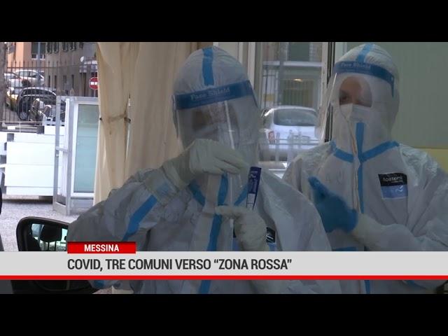 Messina. Covid, tre comuni verso 'zona rossa'