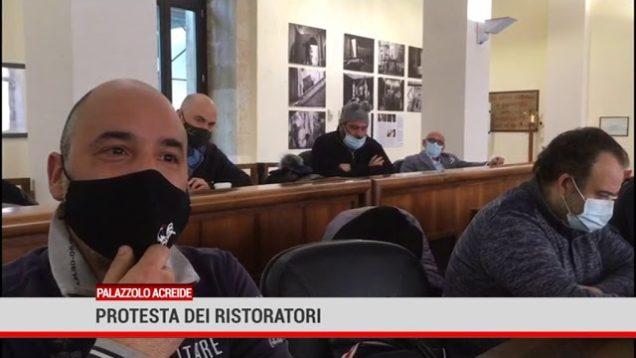 Palazzolo Acreide. Protesta dei ristoratori