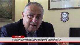 Palermo. 1 mln di euro per la cooperazione studentesca