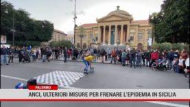 Palermo. Anci. Ulteriori misure per frenare l'epidemia in Sicilia