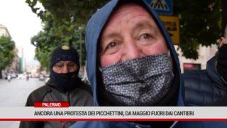 Palermo. Ancora una protesta dei Picchettini, da maggio fuori dai Cantieri