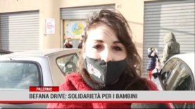 Palermo. Befana drive:solidarietà per i bambini