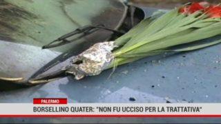 """Palermo. Borsellino quater: """"Non fu ucciso per la trattativa """""""