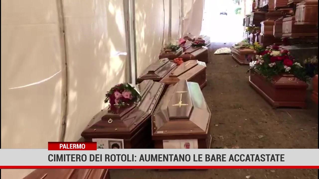 Palermo. Cimitero dei Rotoli: aumenta il numero delle bare accatastate